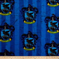 Harry Potter Ravenclaw Fleece Multi Fabric