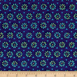 Floral Fantasy Royal Fabric