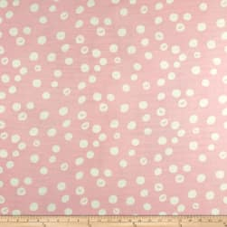Birch Organic Basics Dot Double Gauze Blush Fabric