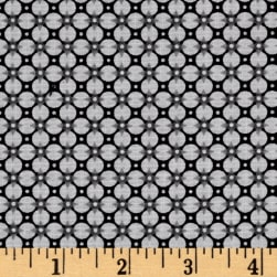 Paisley Wonder Graphic Floral Gray Fabric