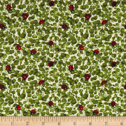 Forest Babies Lady Bugs & Vines Cream/Multi Fabric