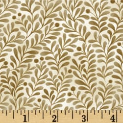 Romance Vines Metallic Cream