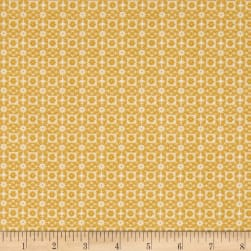 Enchanted Mini Mosaic Daffodil Fabric