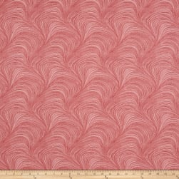 Wave Texture Wide Wave Texture Red Fabric