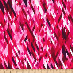 Kanvas Sunburst Color Collage Pink Fabric