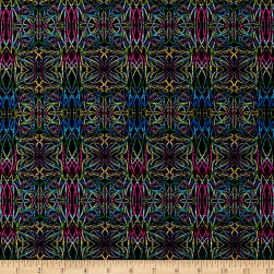 Wonderlust Electric Slide Blue/Multi Fabric