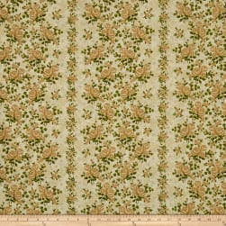Homestead WideWide Climbing Rose Ivory/Sage Fabric