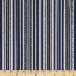 Stone Cottage Arbor Stripe Blue
