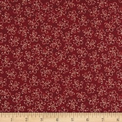 Stone Cottage Grace Red Fabric