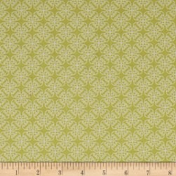 Contempo Gloaming Filament Lime Fabric