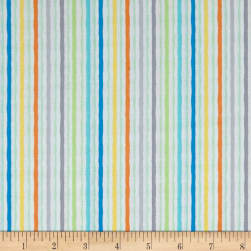 Jungle Jamboree Wavy Stripe Multi Fabric