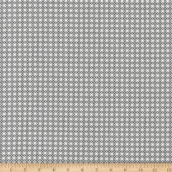 Kaufman Sevenberry Micro Classics White Square Fabric