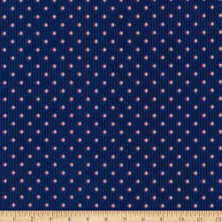 Kaufman Sevenberry Micro Classics Americana Diamonds Fabric