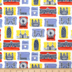 From London with Love Sites Multi Fabric