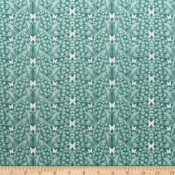 Monarch Grove Kaleidoscope Sea Blue Fabric