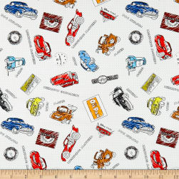 Disney Pixar Mini Color-Me Sketchy Cars Multi Fabric