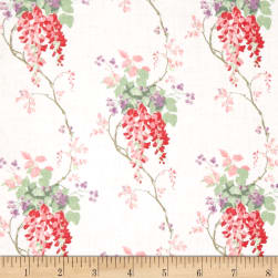 Laura Ashley Wisteria Blooms Cranberry