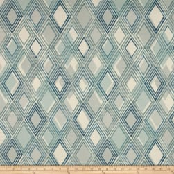 Richloom Chaparal Geometric Basketweave Baltic Fabric