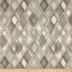 Richloom Chaparal Geometric Basketweave Neutral Fabric