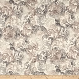 Richloom Bardini Abstract Basketweave Neutral Fabric