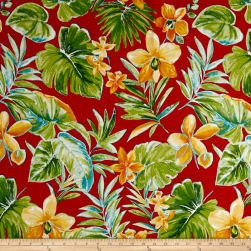 Richloom Solarium Outdoor Beachcrest Poppy Fabric