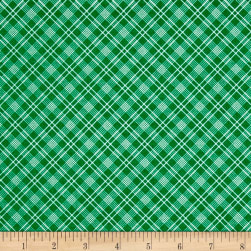 Penny Rose Sunnyside Plaid Green Fabric