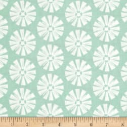 Riley Blake Grandale Windmill Mint Fabric