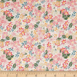 Riley Blake Grandale Floral Cream Fabric