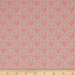 Riley Blake Grandale Stitches Pink Fabric