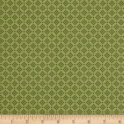 Riley Blake Grandale Dot Green Fabric