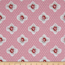 Penny Rose Rustic Romance Rustic Cameo Pink Fabric