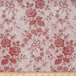 Penny Rose Rustic Romance Rustic Rose Red Fabric