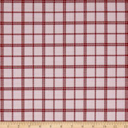 Penny Rose Rustic Romance Rustic Plaid Pink Fabric