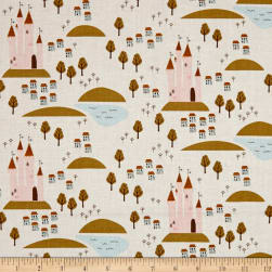 Riley Blake Guinevere Castle Cream Fabric