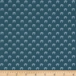 Riley Blake Guinevere Bows Dark Blue