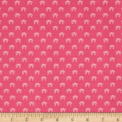 Riley Blake Guinevere Bows Hot Pink Fabric