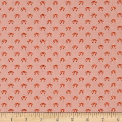 Riley Blake Guinevere Bows Pink Fabric
