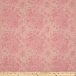 Riley Blake Love Story Love Floral Pink Fabric
