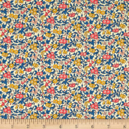Liberty Fabrics The Cottage Garden Forget Me Not