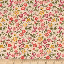 Liberty Fabrics The Cottage Garden Lawn Games Green