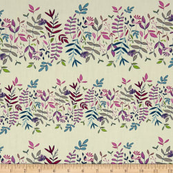 Art Gallery Flower Child Lush Canopy Cloud Fabric