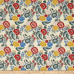 Birch Organic Merryweather Merry Floral Multi Fabric