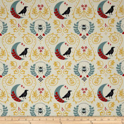 Birch Organic Merryweather Birds And The Bees Fabric