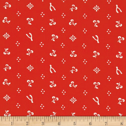 Birch Organic Merryweather Merrythought Red Fabric