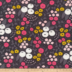 Anna Bella Floral Bliss Organic Gray/Multi Fabric