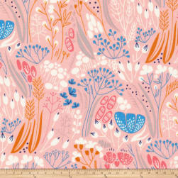 Cloud 9 Whitehaven Metcombe Organic Pink Fabric
