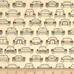 Birch Organic Trans Pacific Headlamps Cream Fabric