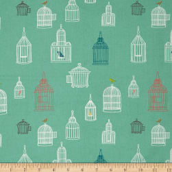 Birch Organic Farm Fresh Bird Song Pool Fabric