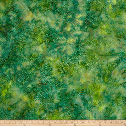 Hoffman Bali Batik Dot Grass Fabric