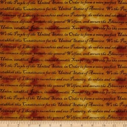 Defenders Of Freedom Preamble Amber/Black Fabric